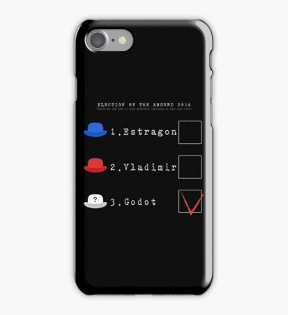 elections of the Absurd 2016 iPhone Case/Skin