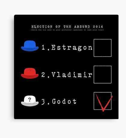 elections of the Absurd 2016 Canvas Print