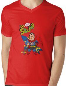 Dr. Slump Supermen Mens V-Neck T-Shirt