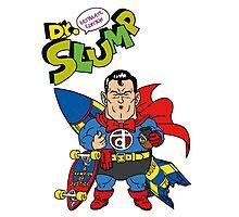 Dr. Slump Supermen Photographic Print