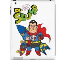 Dr. Slump Supermen iPad Case/Skin