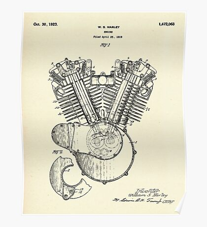 Engine-1923 Poster