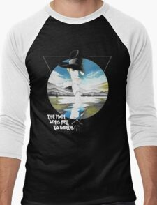 The Man Who Fell to Earth - Bowie Men's Baseball ¾ T-Shirt