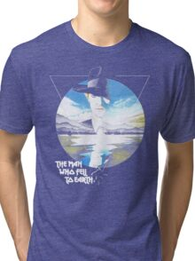 The Man Who Fell to Earth - Bowie Tri-blend T-Shirt