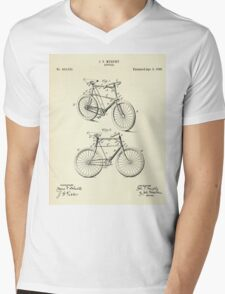 Bicycle-1898 Mens V-Neck T-Shirt