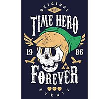 Time Hero Forever Photographic Print
