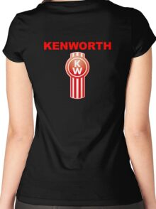 Kenworth Trucks Logo Women's Fitted Scoop T-Shirt