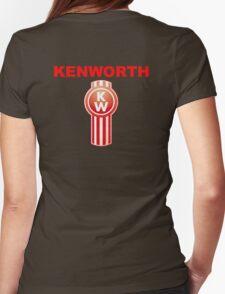 Kenworth Trucks Logo Womens Fitted T-Shirt
