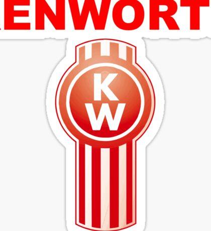 Kenworth Trucks Logo Sticker