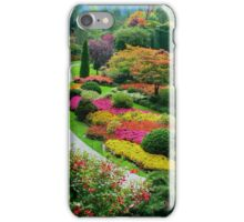 Butchart Gardens, Victoria, Canada, in Autumn iPhone Case/Skin