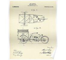 Three Wheel Truck-1914 Poster