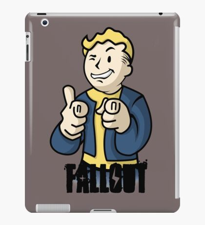 fall out- bipboy iPad Case/Skin
