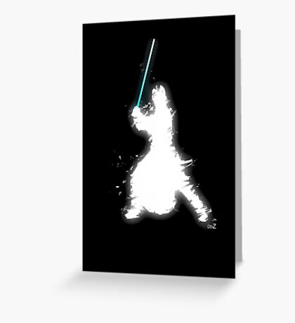 Knight light side Greeting Card