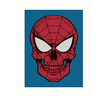 Spidead-Man Art Print