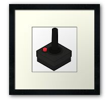 Atari 2600 Controller - Isometric Framed Print