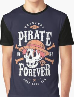 Wanted Pirate Forever Graphic T-Shirt