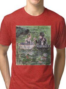 Pond Wedding Tri-blend T-Shirt