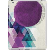 purple / blue / green abstract iPad Case/Skin