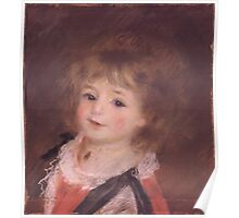 Auguste Renoir - Head of a Child 1876-1878 Poster