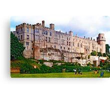 Great Britain - Warwick castle Canvas Print
