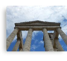 Souvenir from Pompeii - Architecture in the sky Canvas Print