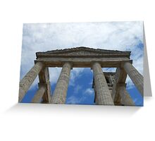 Souvenir from Pompeii - Architecture in the sky Greeting Card