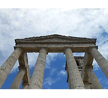 Souvenir from Pompeii - Architecture in the sky Photographic Print