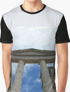 Souvenir from Pompeii - Architecture in the sky Graphic T-Shirt