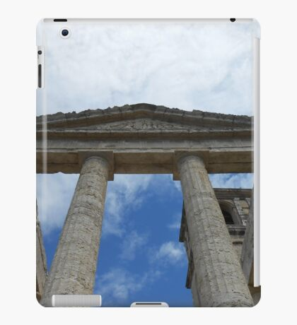 Souvenir from Pompeii - Architecture in the sky iPad Case/Skin