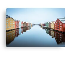 River Nidelva in Trondheim, Norway Canvas Print