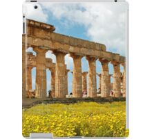 Italy - Greek temple at Selinunte iPad Case/Skin