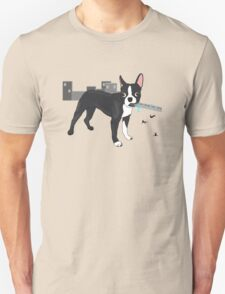 Attack of the Colossal Boston Terrier!!! T-Shirt