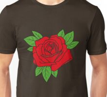 Rose tattoo - red Unisex T-Shirt