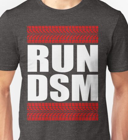 RUN DSM tire tread Unisex T-Shirt