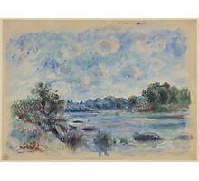 Auguste Renoir - Landscape at Pont-Aven 1892 Impressionism  Landscape Photographic Print