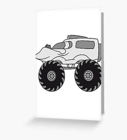 small monster truck Greeting Card