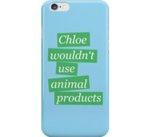 Max' bathroom comment (green) iPhone Case/Skin