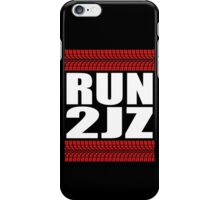 RUN 2JZ tire tread iPhone Case/Skin