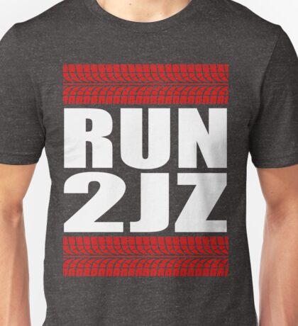 RUN 2JZ tire tread Unisex T-Shirt