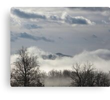 Winter Mountain Canvas Print