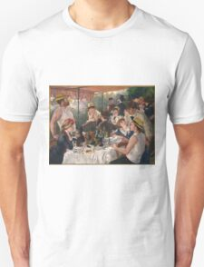 Auguste Renoir - Luncheon of the Boating Party 1880-1881 Woman Portrait Unisex T-Shirt