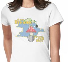 7rD & 'dayDreams' Floating Fungus Womens Fitted T-Shirt