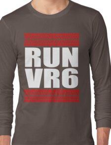 RUN VR6 tread Long Sleeve T-Shirt