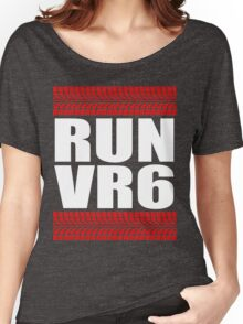 RUN VR6 tread Women's Relaxed Fit T-Shirt