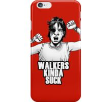 Walkers suck, Carl! iPhone Case/Skin