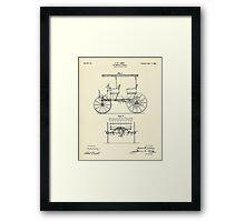Automobile Vehicle-1900 Framed Print