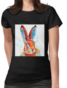 Hare 37 Womens Fitted T-Shirt