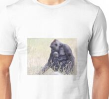 Mother and baby Gorilla Unisex T-Shirt