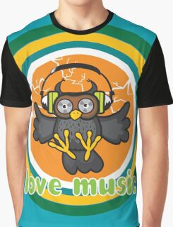 Love music Graphic T-Shirt