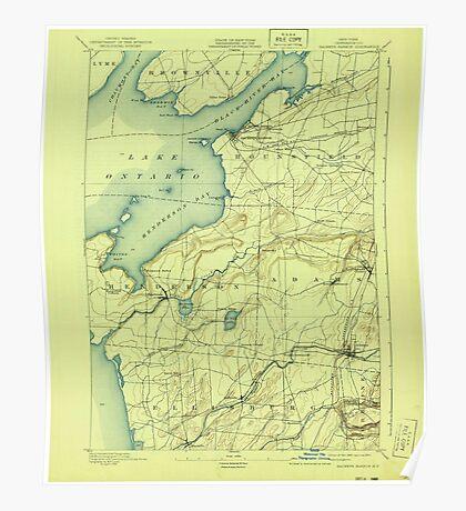 New York NY Sackets Harbor 129273 1895 62500 Poster